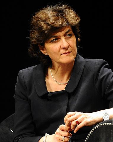 프랑스 여성 국방장관에 임명된 실비 굴라르 유럽의회의원. [사진 위키미디어]