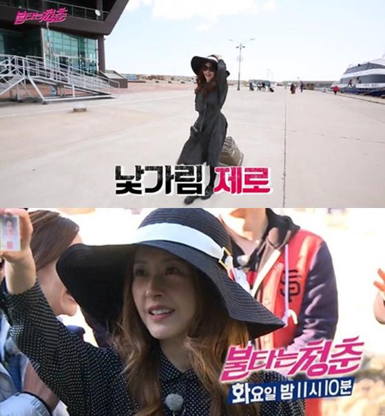 SBS 예능프로그램 '불타는 청춘'에 출연을 예고한 서정희. [사진 SBS]