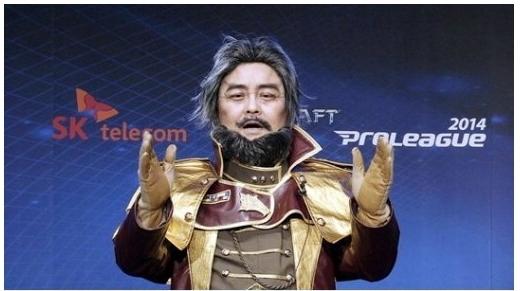 2014년 8월 '악튜러스 멩크스'로 분장한 모습 [사진 한국e스포츠협회제공]
