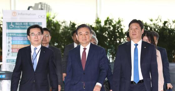 홍석현 한반도포럼 이사장. 김형동 기자