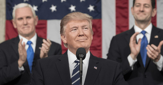 도널드 트럼프 미국 대통령. [사진 백악관 홈페이지]