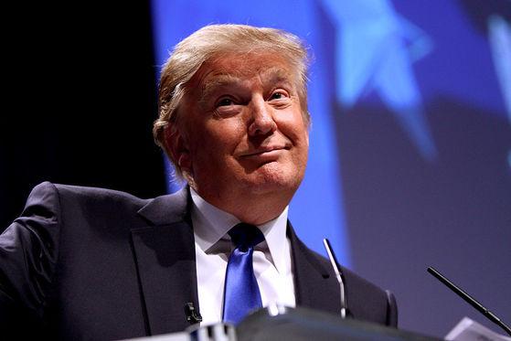 도널드 트럼프 미국 대통령. [사진 위키미디어]