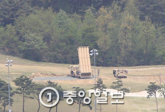 고고도미사일방어(THAADㆍ사드) 체계가 배치된 경북 성주골프장. 프리랜서 공정식