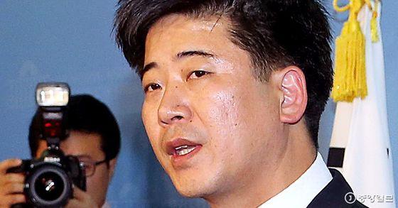 정준길 자유한국당 대변인. [중앙포토]