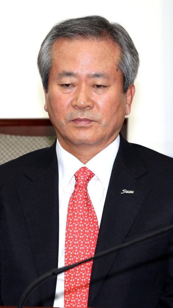 신상훈 전 신한금융지주 사장.