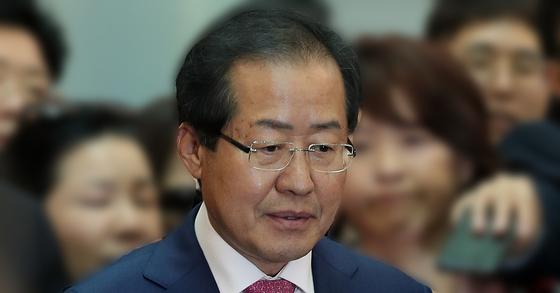홍준표 전 경남지사. [사진 일간스포츠]