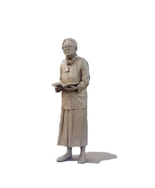 러시아 상트국립대에 세워질 박경리 작가 동상. [한러대화]