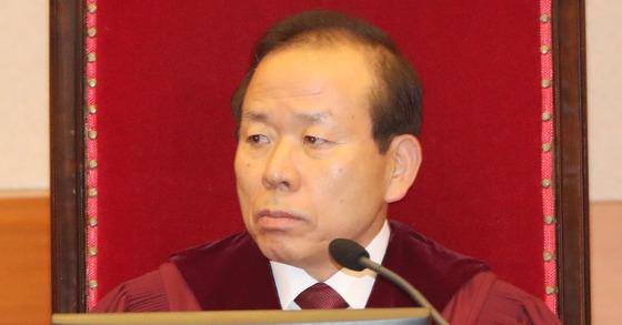 김이수 헌법재판소장 내정자. 전민규 기자