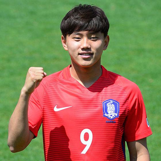 U-20축구대표팀 공격수 조영욱. 사진=중앙포토
