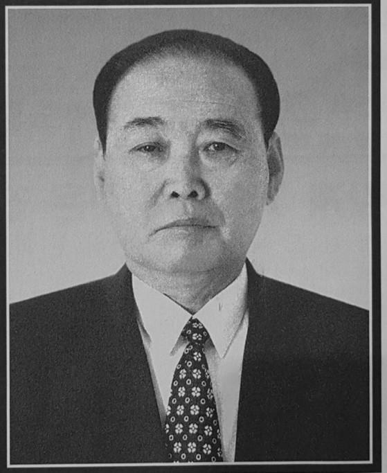 홍성남 북한 전 총리. [사진 노동신문]