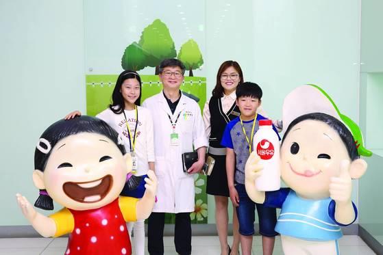 소년중앙 학생기자들이 서울우유 안산공장을 방문했다.