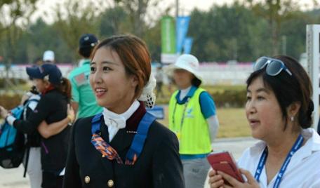 최순실(우측)씨와 그의 딸 정유라씨. [중앙포토]