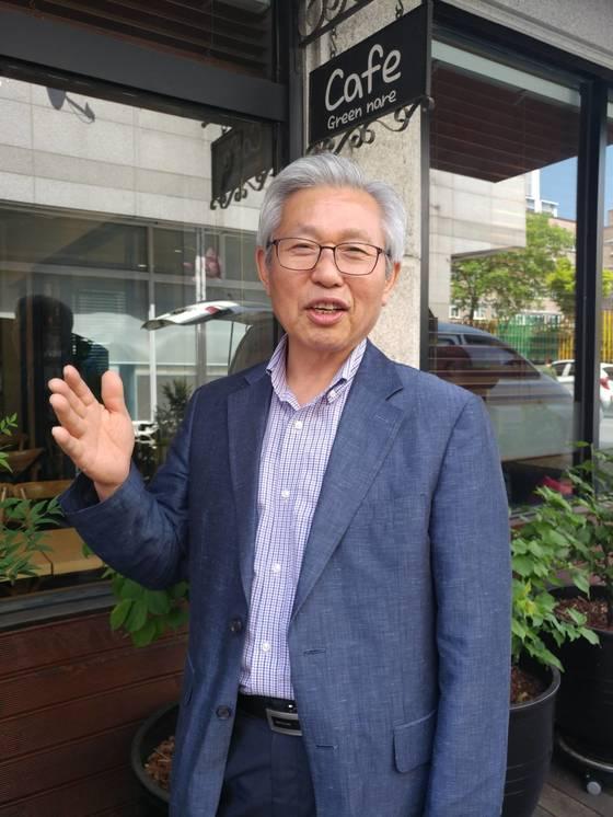 오수생 (사)푸른꿈청소년상담원 원장이 청소년 교육의 중요성에 대해 이야기하고 있다. 김민욱 기자