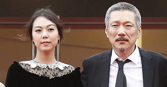 배우 김민희와 홍상수 감독