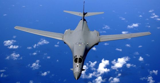 미국의 전략폭격기 B-1B Lancer. [ U.S. Air Force ]