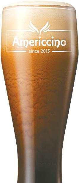 '아메리치노'는 에스프레소 쓰리샷을 얼음과 블랜딩해 깔끔한 맛과 시원해 보이는 비주얼이 특징이다. [사진 엔제리너스커피]