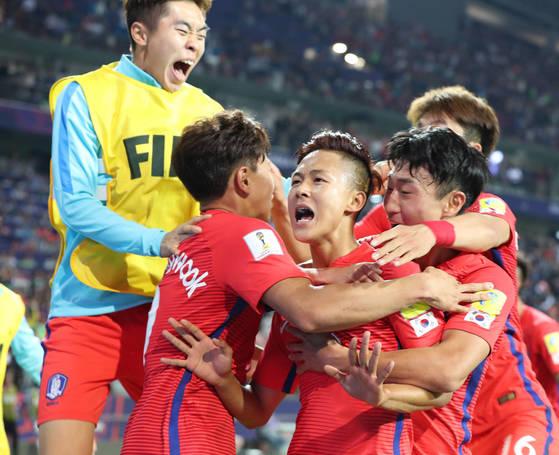 U-20축구대표팀 이승우. [중앙포토]