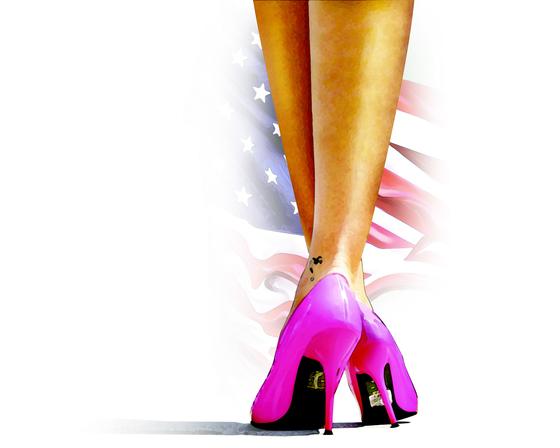 미국 원정 성매매 여성 관련 일러스트 [ 일러스트 = 김경진 기자 ]