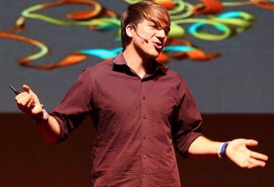 잭 안드라카가 30일 열린 브런치세미나에서 강연을 하고 있다.