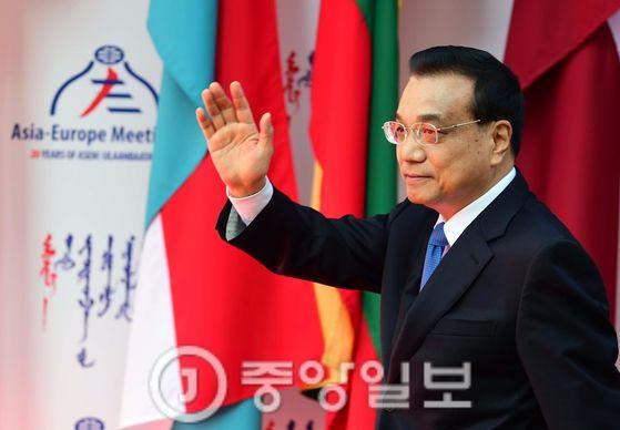 리커창(李克强) 중국 총리 [청와대 사진기자단]