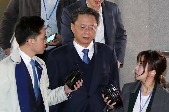 우병우 전 청와대 민정수석비서관. 조문규 기자