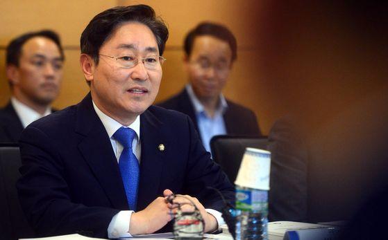 박범계 국정기획자문위원회 정치ㆍ행정분과 위원장. [중앙포토]