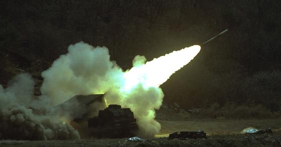 30일 미국방부가 북한의 ICBM에 대응하기 위해 장거리 지상 요격 미사일 훈련을 진행했다. [중앙포토]