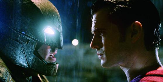 영화 배트맨 대 슈퍼맨:저스티스의 시작.