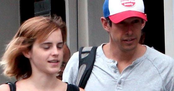 배우 엠마 왓슨(왼쪽)과 그의 남자친구로 알려진 윌리엄 맥나이트. [사진 인스타그램 캡처]