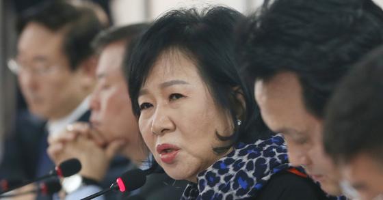 손혜원 더불어민주당 의원. [사진 공동취재]