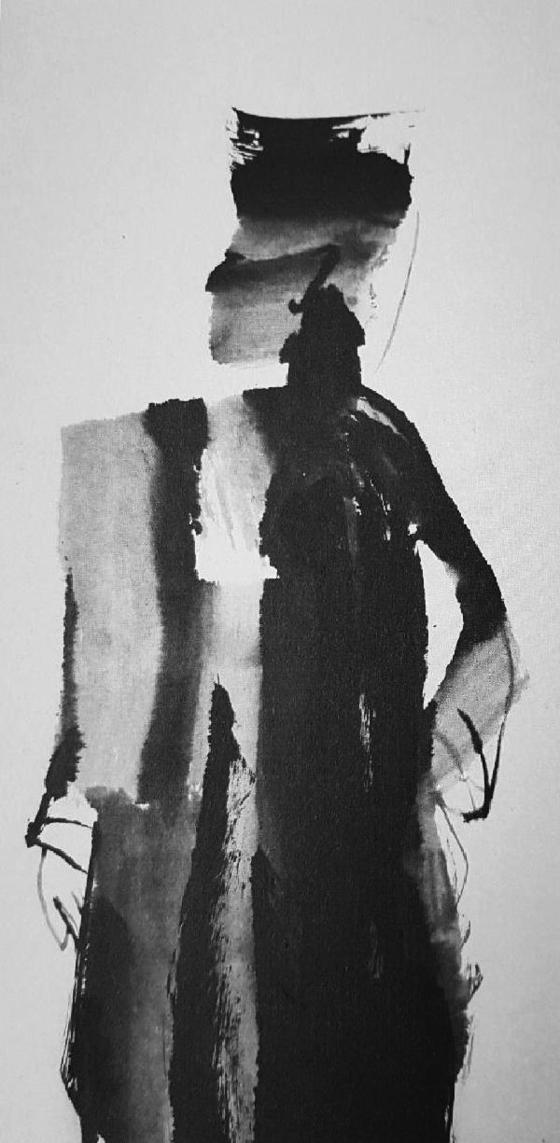 이승찬의 작품 '카(含)', 72X120cm, 한지에 수묵