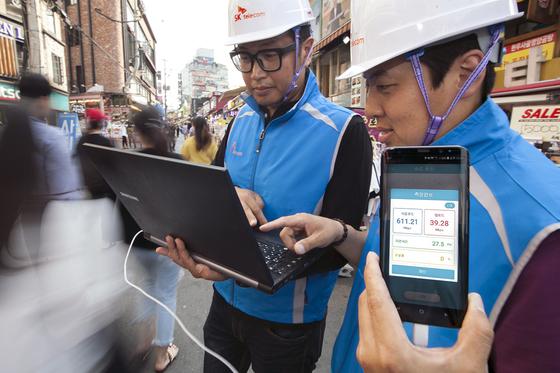트래픽 분산 및 망 최적화 효과로 인해 인터넷 서비스 체감 속도가 향상될 것으로 예상된다. [사진 SKT]