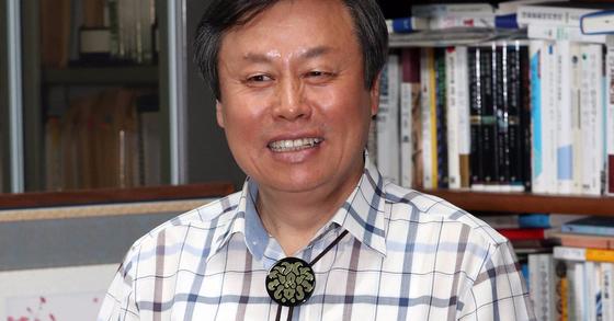 문화체육관광부 장관 후보자인 도종환 더불어민주당 의원. 강정현 기자