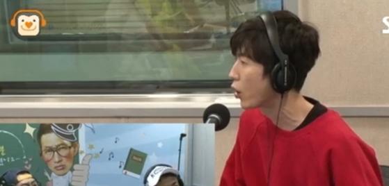 [사진 SBS러브FM'김창렬 올드스쿨' 보이는 라디오 캡처]