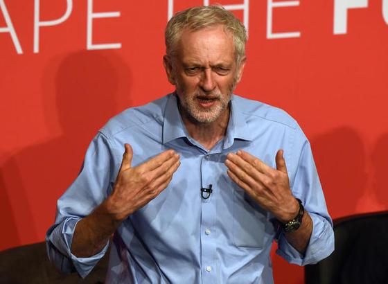 제레미 코빈 영국 노동당 대표