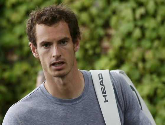 영국 테니스 선수 앤디 머리.