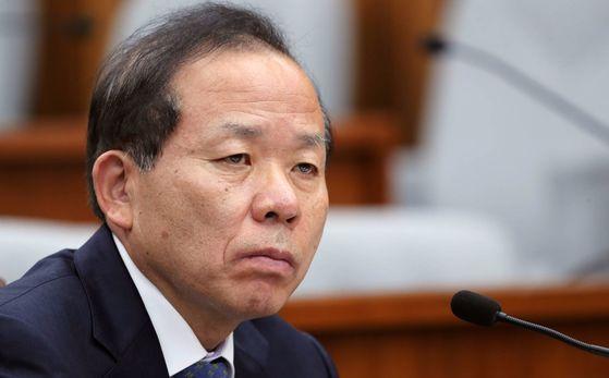 김이수 헌법재판소장 후보자 인사청문회가 8일 국회에서 속개됐다. 박종근 기자