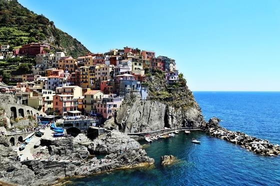 한국인에게 가장 많은 사랑을 받는 유럽 여행지는 이탈리아인 것으로 조사됐다. 사진은 이탈리아 북부 해안마을 마나롤라. [중앙포토]