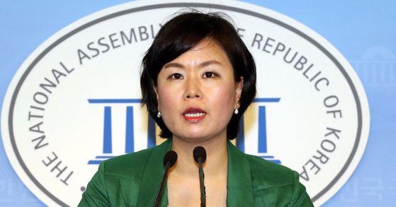 김유정 국민의당 대변인. [중앙포토]