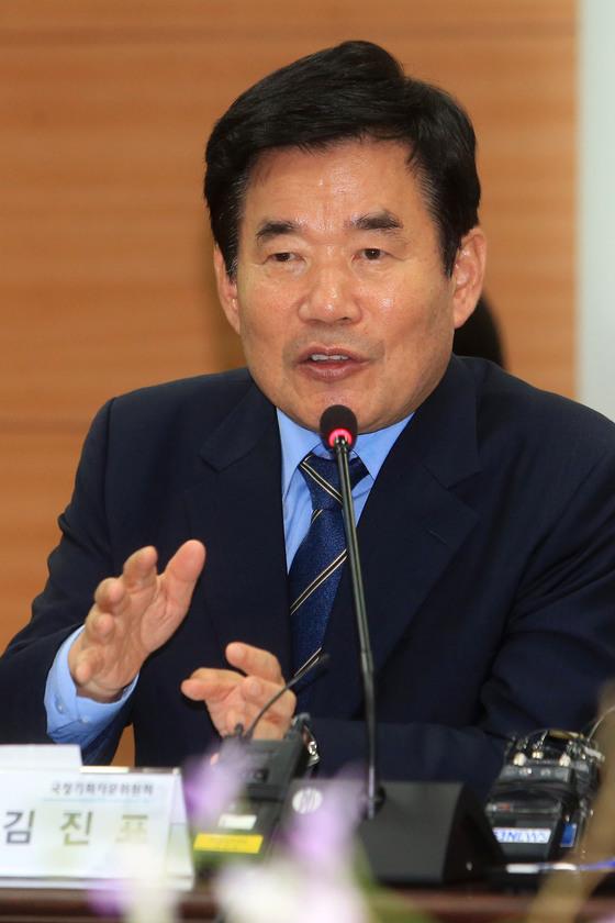 김진표 국정기획자문위원회 위원장. [중앙포토]