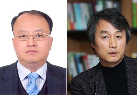 한승희 서울지방국세청장(왼쪽), 안병옥 시민환경연구소 소장. [중앙포토]