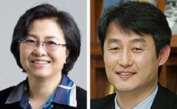 김은경(左), 안병옥(右)