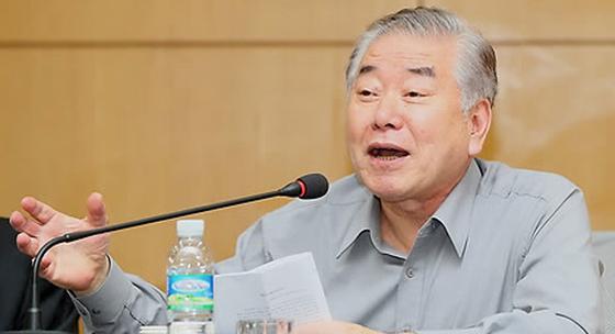 문재인 대통령의 통일외교안보 특보인 문정인 연세대 명예특임교수. [연합뉴스]