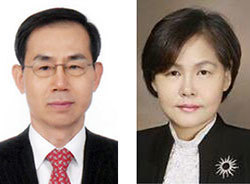 조재연(左), 박정화(右)