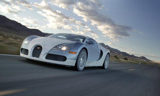 디지털트렌드 '세계에서 가장 비싼 자동차' 공동 3위 부가티 베이론. [부가티]