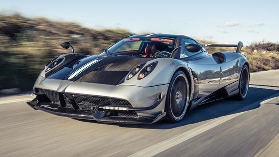 디지털트렌드 '세계에서 가장 비싼 자동차' 6위 파가니 와이라BC. [파가니]