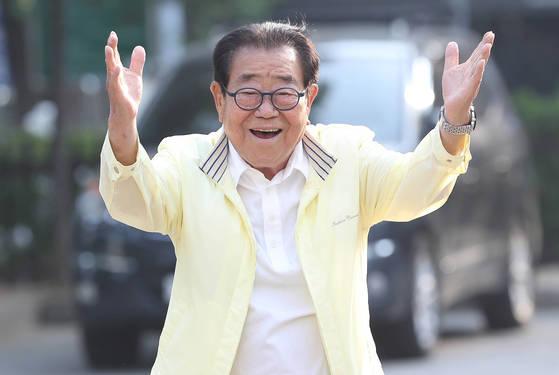 [포토]송해, '전국~ 노래자랑'