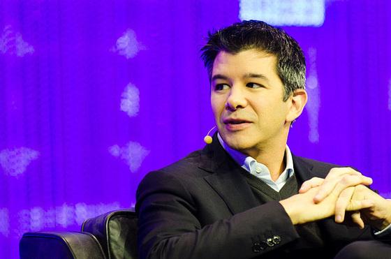 미국의 차량공유업체 우버의 창업자이자 최고경영자(CEO)인 트래비스 캘러닉이 20일 CEO에서 사임했다. [중앙포토]