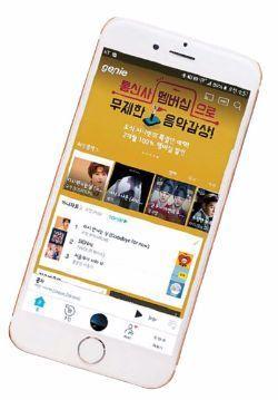 genie는 이용자 맞춤 음악을 추천하는 '스마트 음악 추천'을 제공한다. [사진 지니뮤직]