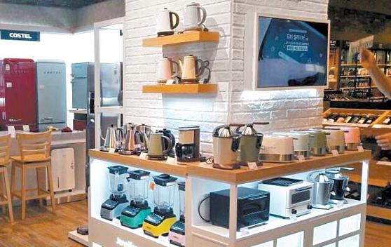 제니퍼룸은 주방가전 SPA브랜드로 다양한 제품을 내놓았다. [사진 이엠케이네트웍스]